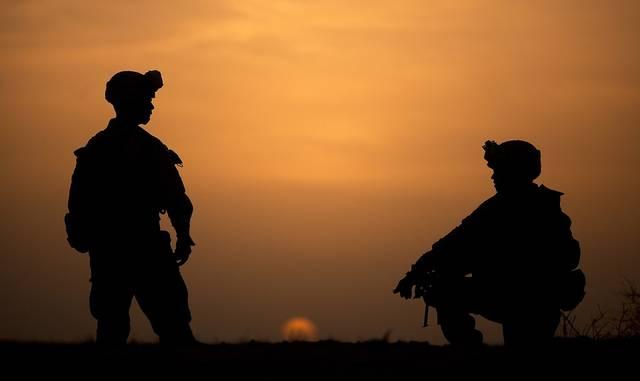 シルエット 軍事 兵士 - Pixabayの無料写真 (551502)
