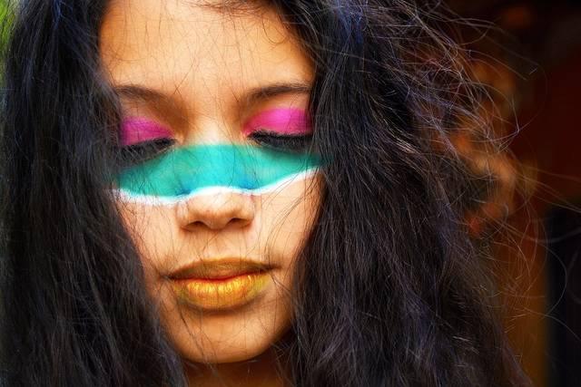 女の子 女性 フェイス ペイント - Pixabayの無料写真 (611857)