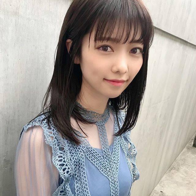 """島崎遥香 on Instagram: """"暗めヘアカラー🐼"""" (546355)"""