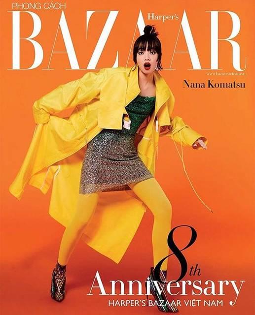 """@konichan7 on Instagram: """"Harper's Bazaar Vietnam 📙#Vietnam🇻🇳#magazine"""" (551180)"""