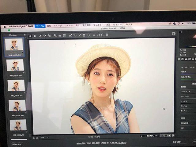 """honda tsubasa on Instagram: """"🏝@moremagjp で夏メイクの撮影。コスメ新しいの欲しいなと思って先日表参道のコスキチに行ったらいつの間にか @celvoke.jp を爆買いしていました🙋♀️#celvoke #more"""" (551823)"""