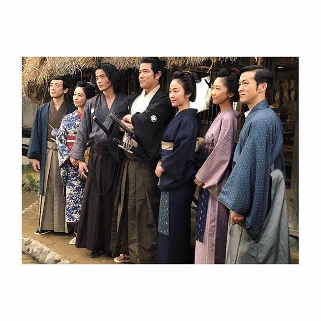 """柏木由紀(Yuki Kashiwagi) on Instagram: """". NHK大河ドラマ「西郷どん」に 出させていただくことになりました! . 西郷さんの弟の吉二郎さんの妻 西郷園を演じさせていただきます。 地元鹿児島にたいへん所縁のある西郷さんの物語に 出させていただける喜びを感じながら、 撮影に参加させていただいております。 .…"""" (553743)"""