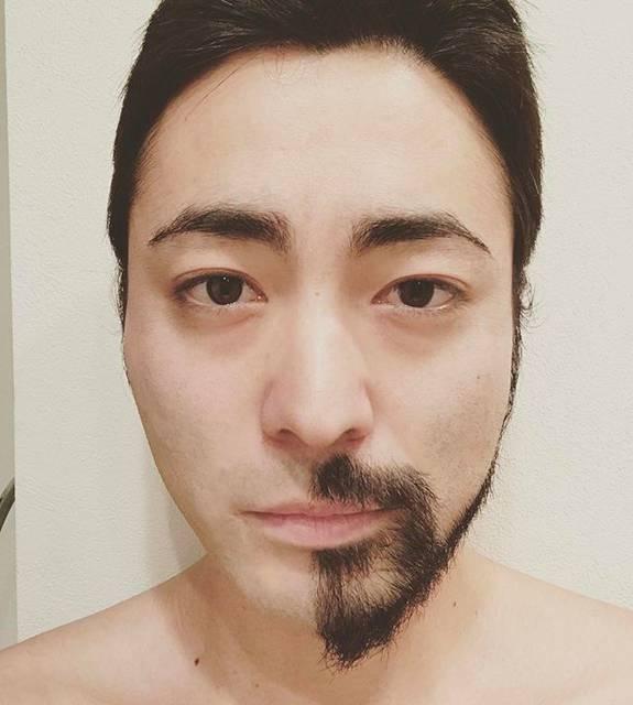 """山田孝之 on Instagram: """"俳優に髭が必要な""""道具""""であることをわかりやすく解説した比較画像。#年齢設定"""" (554655)"""