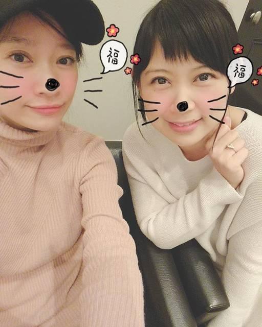 """絢香 Ayaka on Instagram: """"映画がご縁となり、2人ランチをしてきた✨ ほんと〜に素敵な方。 もう、可愛くて大好き。 気づけば4時間!! 楽しかった〜!! #人魚の眠る家 #篠原涼子 さん #涼子ちゃんって呼ぶの #まだ慣れない 笑 #涼子ちゃん #このスタンプ #選んじゃうとこも…"""" (555027)"""