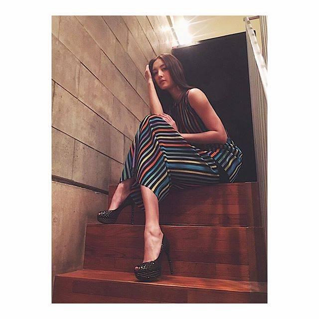 "NANAO1028 on Instagram: ""DRESS: @dvf SHOES: @louisvuitton"" (556713)"