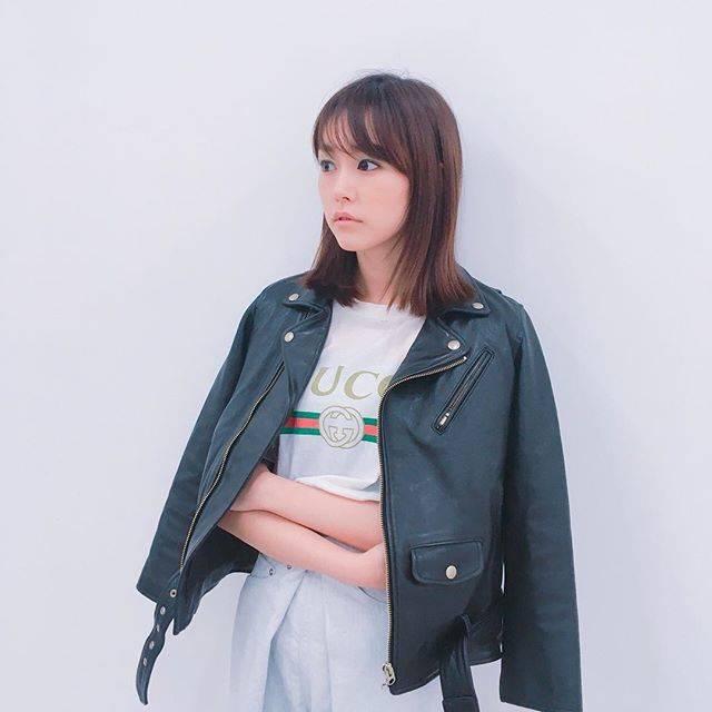 """桐谷美玲 on Instagram: """"ライダースが着られる季節🌸#ootd#私服"""" (556951)"""