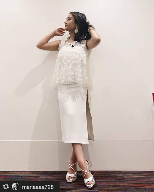 "@sophieetvoilatokyo on Instagram: "". @mariaaaa728  #谷まりあ さん💓 . 前回に続き @sophieetvoilatokyo のドレスを お召しくださいました💓 . . 要CHECK!.! . . Special Thanks & Styling @wakiko_kondo 💓 .…"" (559230)"