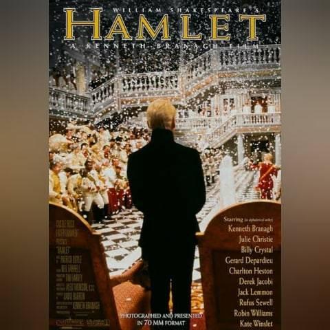 "@takashi.sinz on Instagram: """"HAMLET"" (1996) 『ハムレット』 . 第69回(1996年度)アカデミー賞4部門ノミネート (脚色賞/美術賞/衣装デザイン賞/作曲賞) . . ケネス・ブラナー監督・主演によるシェイクスピア戯曲「ハムレット」の映画化。 4時間全長版。 . . .…"" (561989)"