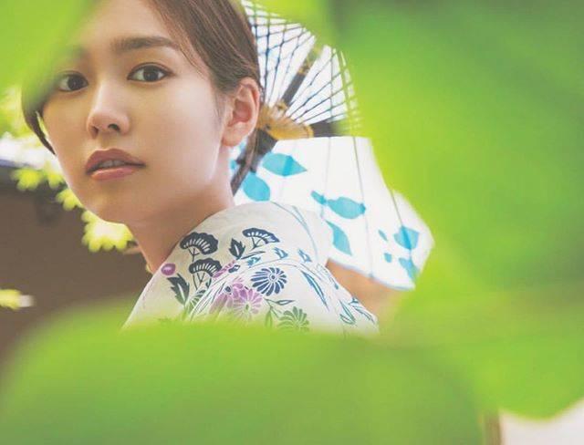 """* .actress ・.  * on Instagram: """"ㅤㅤㅤㅤㅤㅤㅤㅤㅤㅤㅤㅤㅤ顔ちっちゃ!ㅤㅤㅤㅤㅤㅤㅤㅤㅤㅤㅤㅤㅤ#桐谷美玲 #kiritanimirei #mireikiritani #女優 #浴衣 #河北メイク"""" (573840)"""