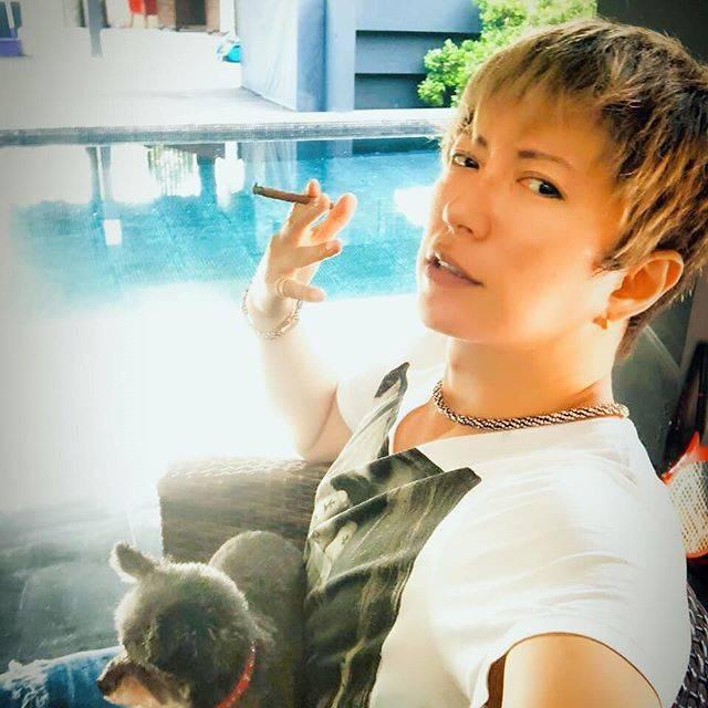 "GACKT.C on Instagram: ""#GACKT#VARTIX#LUV#1日1枚がっくん"" (578088)"