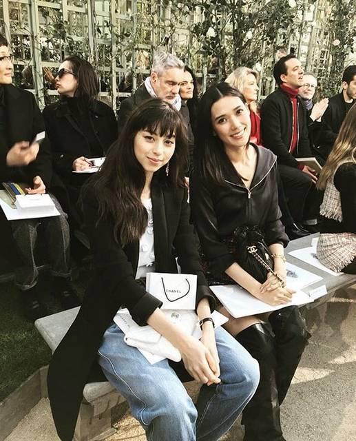 """中条あやみ on Instagram: """"世界でモデルとしても女優さんとしても活躍されているタオさん。私もこんな優しさと格好良さを兼ねそろえた女優さんになりたいな。#paris"""" (584202)"""