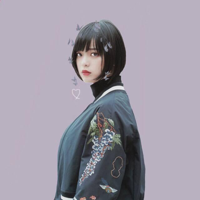 """🌃 on Instagram: """"可愛いボブヘアとかっこいいお洋服の組み合わせがとてもよいです・・#平手友梨奈#hirateyurina #欅坂46#keyakizaka46 #かわいい#cute"""" (586427)"""