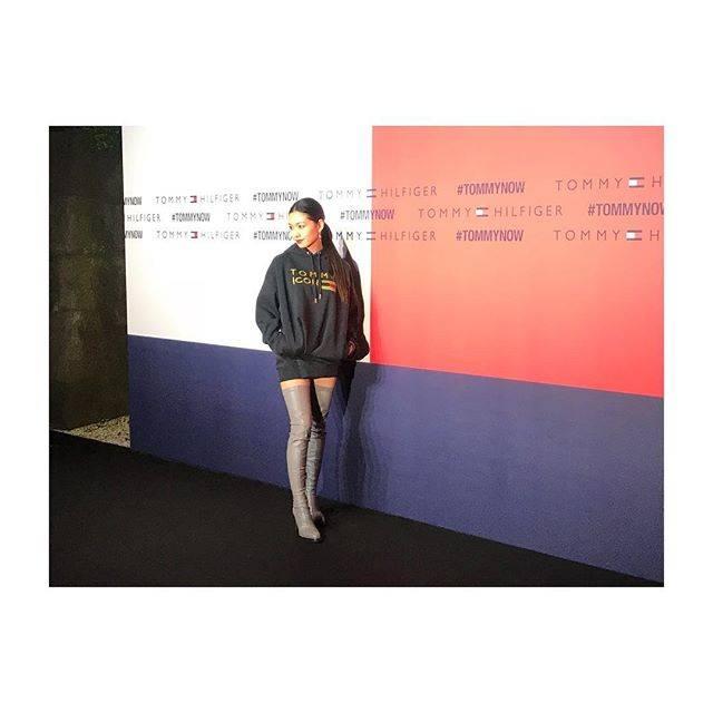 "Fumi Nikaido on Instagram: ""素晴らしいウォータープロジェクションでした!#TommyHilfiger#IconsOfTomorrow"" (589088)"