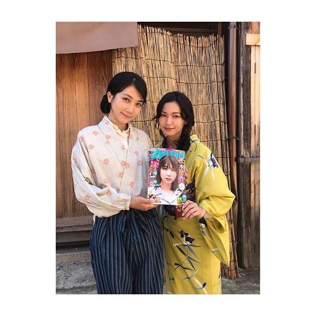 "Fumi Nikaido on Instagram: ""すずさん こと 松本穂香さんと🌻松本さん、まつもっちゃん、ほのちゃん、穂香ちゃん、色んな呼び方をしたくなる程、様々な顔を持つ彼女にメロメロです。ドラマ ""この世界の片隅に"" よろしくお願いします🙏#この世界の片隅に"" (589093)"