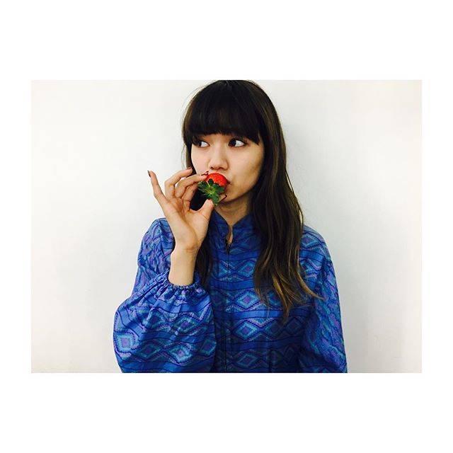 "Fumi Nikaido on Instagram: ""🍓 #おいち"" (589127)"