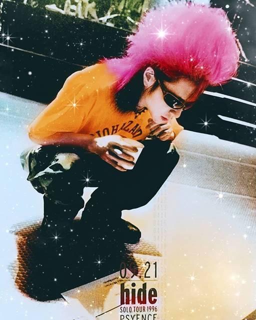 """rui*♺ on Instagram: """". . . . モノクロに色を付けるの難しい🤪❤️ . . 色褪せない人は 色を付けてパワーアップ❤️🍌 . 私はあなたのバイアグラ🥺🙌🍌ぇ . . . んじゃ 午後も笑顔溢れるhideありますようにヽ(o´3`o)ノ . . . #hide #松本秀人 #xjapanhide…"""" (590598)"""