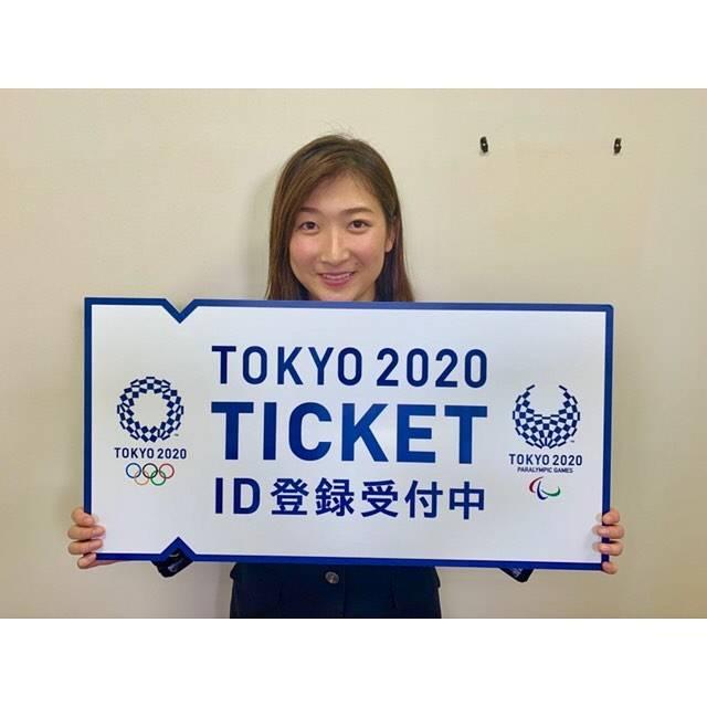 """Rikako Ikee on Instagram: """"*アスリート直筆サイン入りTシャツとポスターがあたるキャンペーン実施中です。私のサインもあります!TOKYO 2020 ID登録をして、是非応募してください!登録&応募はこちらから!http://urx.blue/NzmA"""" (590662)"""
