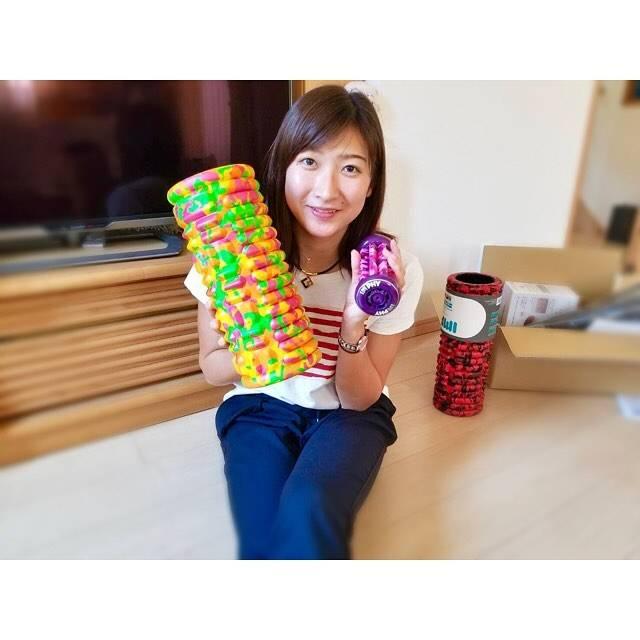 """Rikako Ikee on Instagram: """"* 疲労でガチガチになった筋肉をほぐしてくれる優れもの! 愛用してます💕 #imphy は、どれもカラフルで可愛いけど 個人的にはピンク色が好き😍 そして今日GW強化合宿が終わりました。 スイマーにとっては過酷な時期!(笑) 今までで一番きついGWでした!…"""" (590685)"""