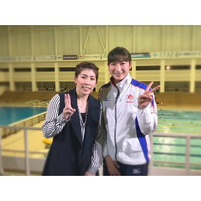 """Rikako Ikee on Instagram: """"* 4/7(土)0:00〜NHK.BS1「アスリートの魂」が放送されます! 吉田沙保里さんと対談させていただきました😌💞 試合期間中ではありますが今シーズン初めからのトレーニングの様子や技術など普段見れない様子などもあると思います! 是非ご覧ください!💫 #NHK #BS1…"""" (590686)"""