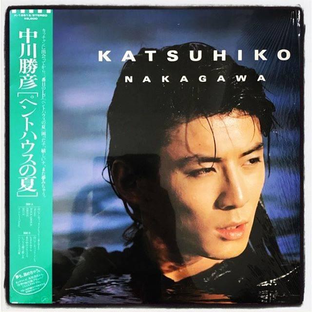 "Takashi Ikegami on Instagram: ""中川勝彦「ペントハウスの夏」「Skinny」が入ってるのはこれ。岩里さんの作詞は4曲。#analog #vinyl #中川勝彦 #jpop #和モノ #岩里祐穂"" (590823)"
