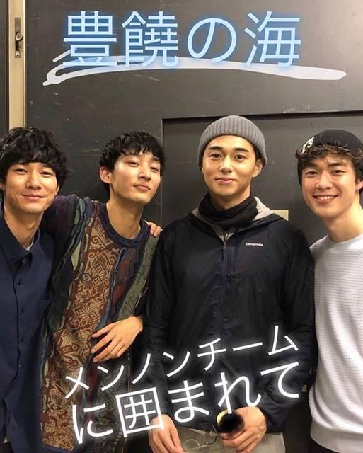 """🔫 on Instagram: """"#清原翔 #上杉柊平 #東出昌大 #宮沢氷魚"""" (591689)"""