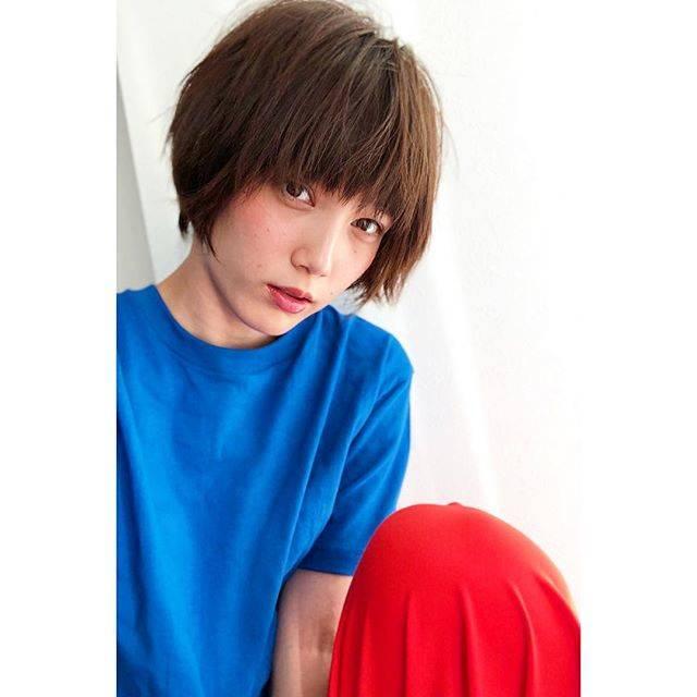 """honda tsubasa on Instagram: """"✂︎なんということでしょうあんなに首元に溜まってた髪がこんなにすっきりと生まれ変わりました。匠の技ですね @mackydesu #shorthair"""" (593529)"""