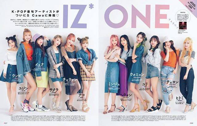"IZ*ONE YABUKI NAKO 🐰🌸 on Instagram: ""IZ*ONE for Scawaii Magazine September 2019 Issue ♡ . . ☆☆ PLEASE SUPPORT FOR NAKO & IZ*ONE 🙏💕☆☆ . 🔊 Repost ? Tag ! 💕 Thank you for…"" (593777)"