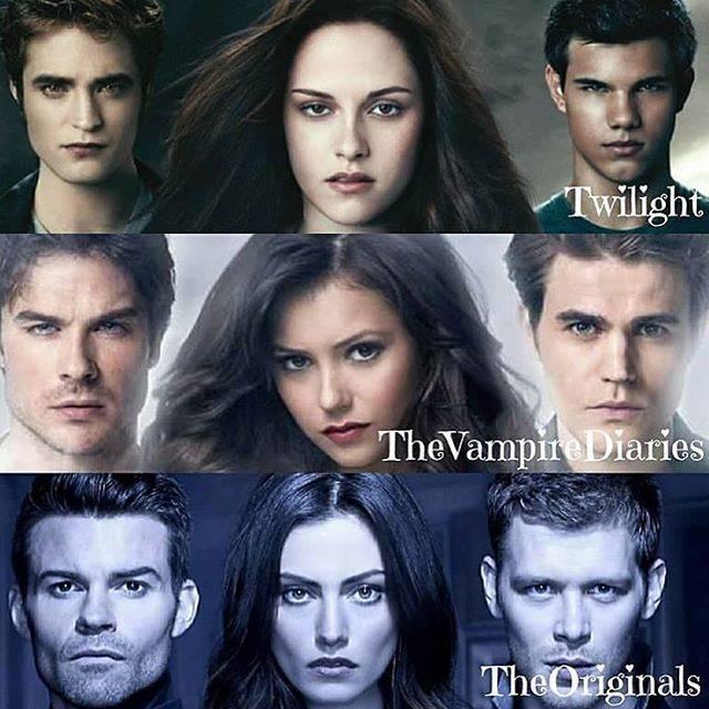 "Nina Dobrev on Instagram: ""Twilight, The Vampire Diaries or The Originals?❣️ Follow -> @ninadobrev . . @nina @iansomerhalder #nina #ninadobrev #iansomerhalder…"" (593971)"