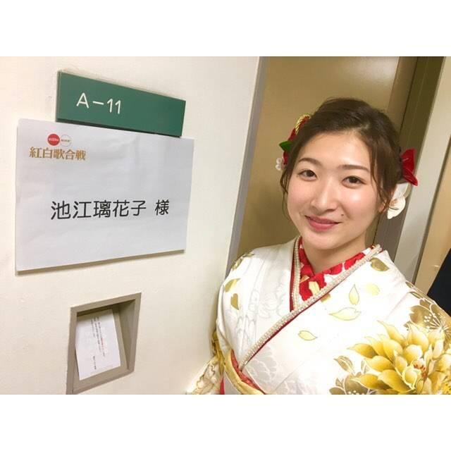 """Rikako Ikee on Instagram: """"*明けましておめでとうございます🌅今年もよろしくお願い致します。紅白歌合戦見ていただきありがとうございました😊#happynewyear2019 #nhk紅白歌合戦2018"""" (594198)"""