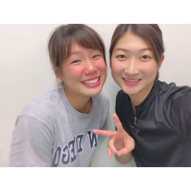 """Rikako Ikee on Instagram: """"♡池&池コンビの愛里ちゃんです💗日本新記録おめでとうございます🤤✨#パラスポーツ #競泳"""" (594501)"""