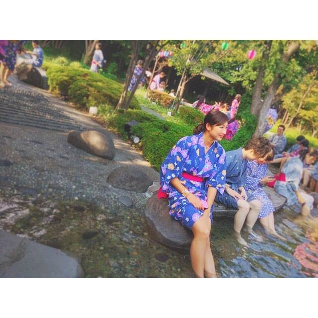 "Rikako Ikee on Instagram: ""♡いつかのOFF#大江戸温泉  #浴衣👘肩幅広い😫(笑)"" (594503)"
