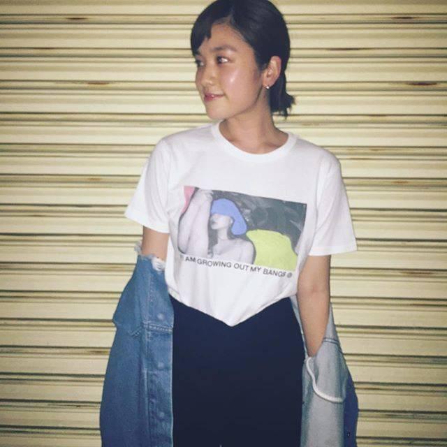 """筧美和子 on Instagram: """"yoneさんTかわいー。#miwakoinstagram"""" (595296)"""