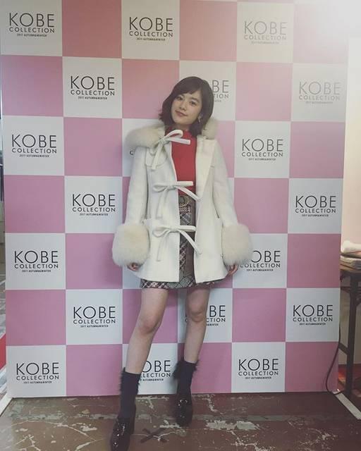 """筧美和子 on Instagram: """"今日は神戸collectionこれからWITHSUNのステージ出てきます〜#kobecollection"""" (595297)"""