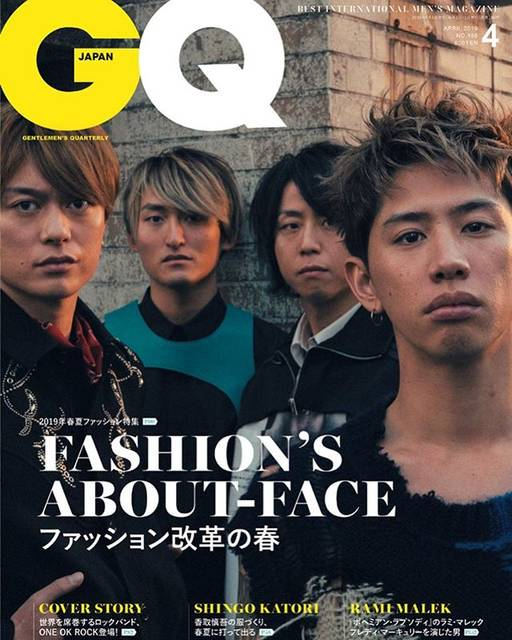 """Taka on Instagram: """"Cover of GQ!!!!!!!!!!@gqjapan @oneokrockofficial"""" (596013)"""