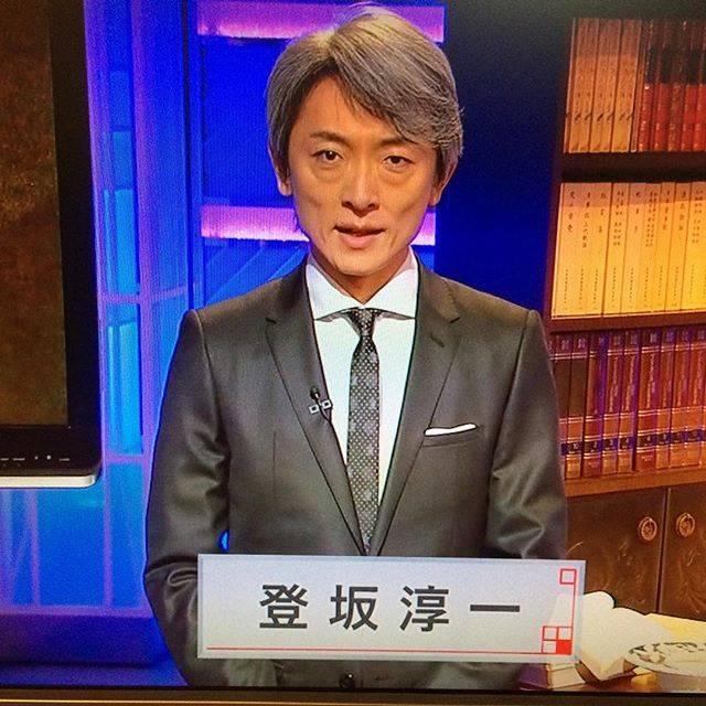 "Yuki Eclair on Instagram: ""帰宅即麿タイム#かんさい熱視線 #登坂淳一#麿#NHK大阪#登坂車線"" (597080)"