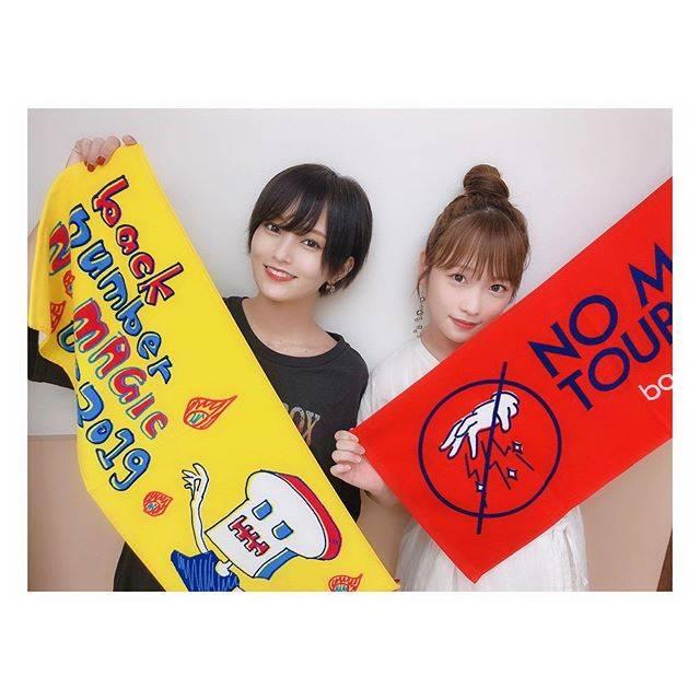 """川栄李奈 on Instagram: """"backnumberさんのNO MAGIC TOUR 2019ひゃぁぁ、、素敵でした🥺パワーを頂いたので今日も頑張ります!!久しぶりのさやか〜🖤"""" (597791)"""