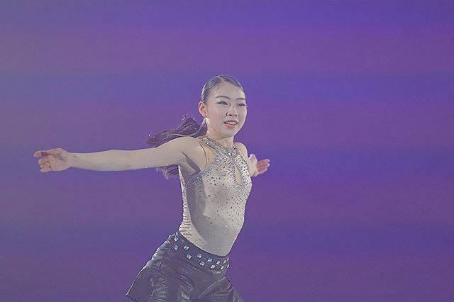 """まゆみもえ on Instagram: """"THE ICE最高やったなあ.......🍦 今年3回目の梨花ちゃん✊🏻 梨花ちゃんのBIB見れて嬉しかった😭 めちゃめちゃ美しい3A見れたのも一生忘れない!!! 毎回隅々までみんなに手振ってる梨花ちゃん本当にさすがです( ¨̮…"""" (603271)"""