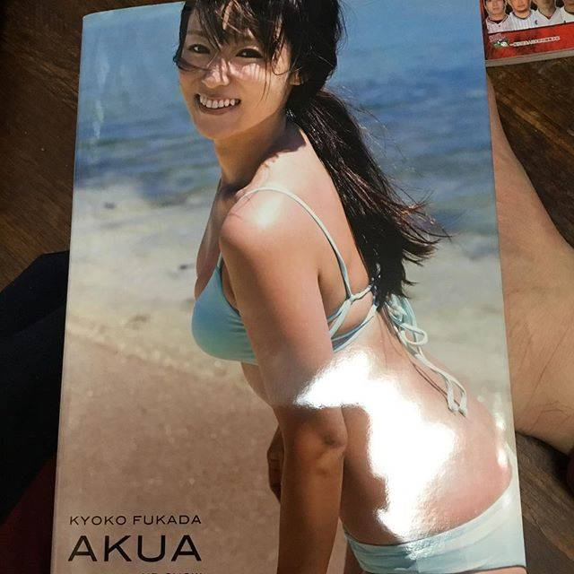 """Takuya Inafuku on Instagram: """"イイケツしてるぜよ#深田恭子 #深田恭子写真集 #深キョンボディ"""" (621162)"""