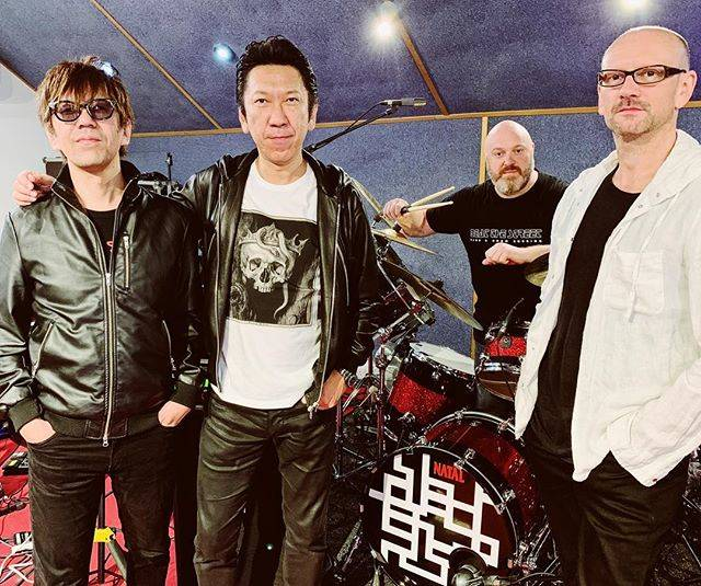 "HOTEI Official on Instagram: ""Introducing my partners in crime for Euro Tour 2018!  Mark Neary on bass, Steve Barney on drums and Shinya Okuno on keys!  Are you ready…"" (622179)"