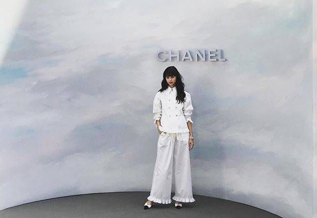 "中条あやみ on Instagram: ""#chanel #paris"" (623091)"