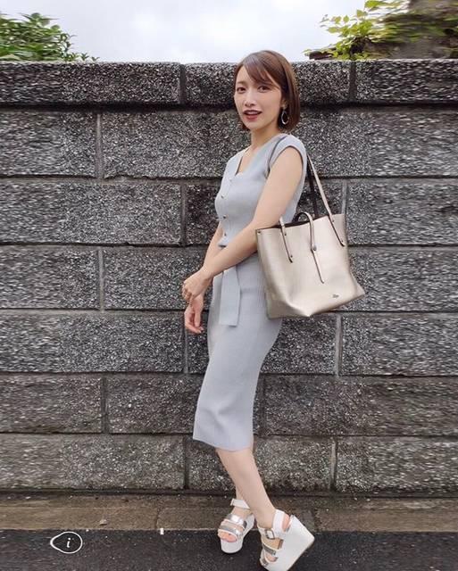 """後藤真希 on Instagram: """"#まきふく #bag @coach #onepieae @noela_official"""" (631116)"""