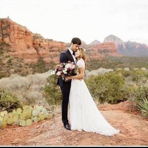 """kimiko on Instagram: """"米大リーグ、カブスのダルビッシュ有投手(32)と元レスリング世界王者の聖子夫人(38)が米アリゾナ州セドナで披露宴を行った。夫人が14日、ツイッターで明かした。  2人は2014年に交際を宣言し、16年に結婚した。…"""" (632494)"""