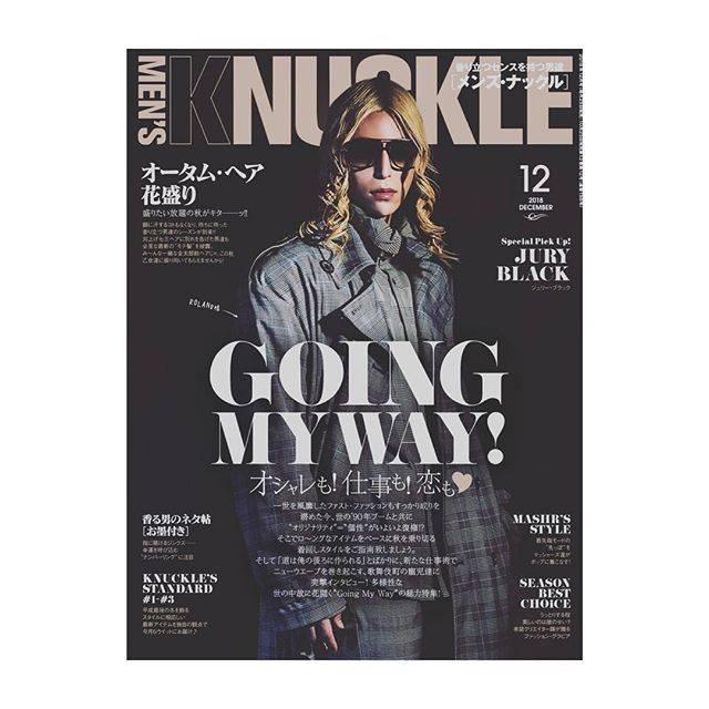 "【ROLAND】 on Instagram: ""--MEN'S KNUCLEの12月号表紙。-こうして着々と日本1億2千万人総ローランダー計画進行中…。俺の事知らないのは、俺の実力不足ではなくお前の勉強不足。ね!-#ROLAND#mensknuckle #12月号#表紙#日本総ローランダー計画"" (633991)"