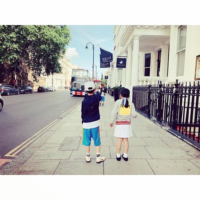 """SAEKO♡ on Instagram: """"グリコ✊✌️✋で公園目指したら、なかなかたどり着けません。w#london"""" (636026)"""