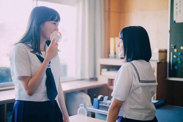"""飯豊まりえ on Instagram: """"ほののん#いなくなれ群青二度目の共演^_^"""" (636907)"""