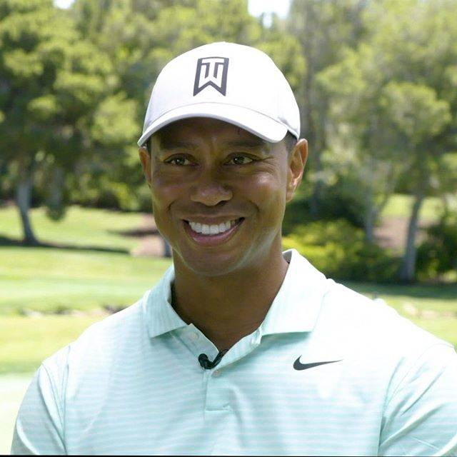 """Tiger Woods on Instagram: """"Cool enough shot to win? I hope so. Please vote up to 20 times per day until August 2nd for my shot in the MetLife MatchUp. The winner will…"""" (639228)"""