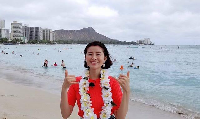 """Chinami Suzuki 鈴木ちなみ on Instagram: """"Aloha🌺#Hawaii #東海テレビ #スタイルプラス#his  #hisハワイ#ちなみたび"""" (640379)"""