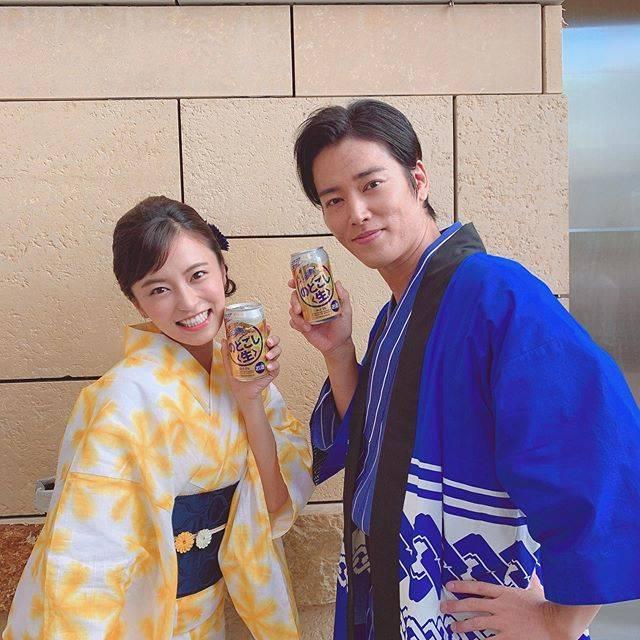 """小島瑠璃子 on Instagram: """"✨桐谷健太さん!本当に素敵な方😭🙏🏻#のどごし生#のどごし生ファミリー"""" (640703)"""