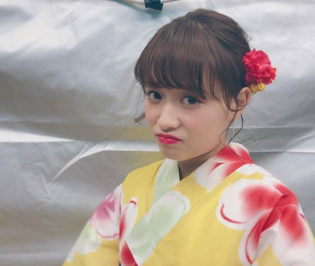 """大原櫻子 on Instagram: """"今年初浴衣👘隅田川の花火も最高でした✨"""" (640869)"""