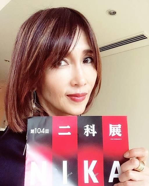 "Kudo_shizuka on Instagram: ""9/4から9/16日まで六本木国立新美術館で二科展開催しています。休館日は9/10 絵画タイトルは  心の華です。写真はまた後日に投稿しますね😊"" (646657)"